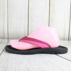 OluKai Ohana Thong Flip Flop Sandals Size 9